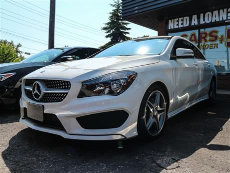used mercedes benz in toronto