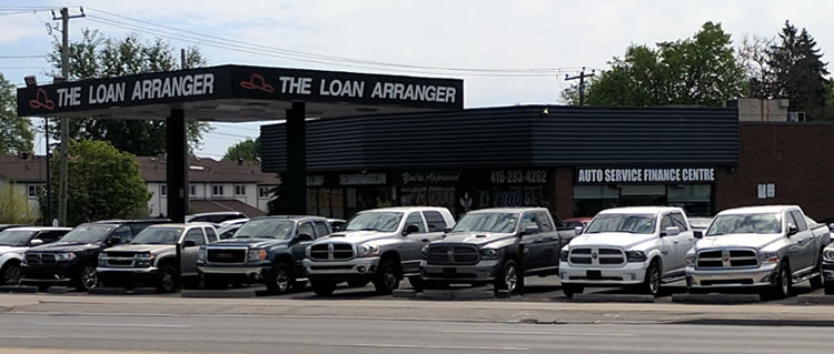Toronto car dealership